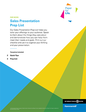 How to Structure a Sales Presentation