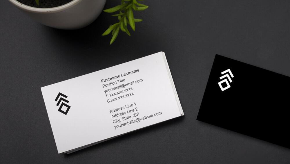 Admirable Business Card Template Interior Design Ideas Skatsoteloinfo